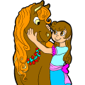 Me and my Horse - Monica, 13